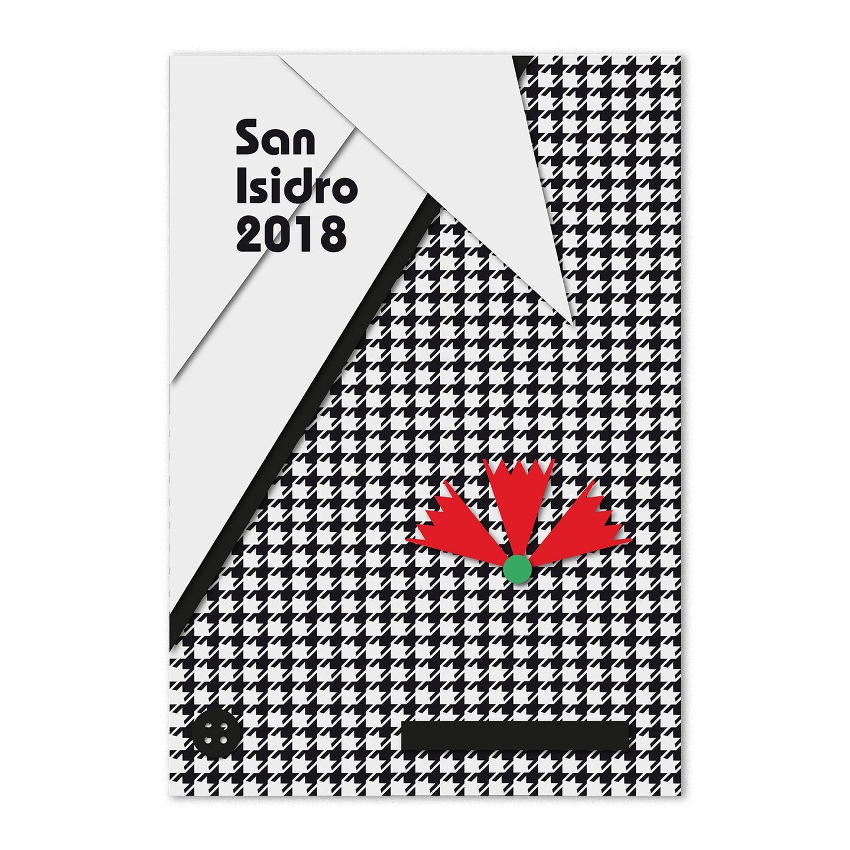 diseño carteles san isidro 2018