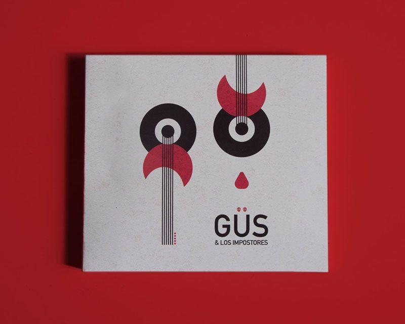 diseño disco música Gus