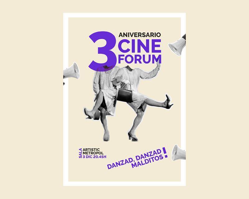 diseño cartel cineforum