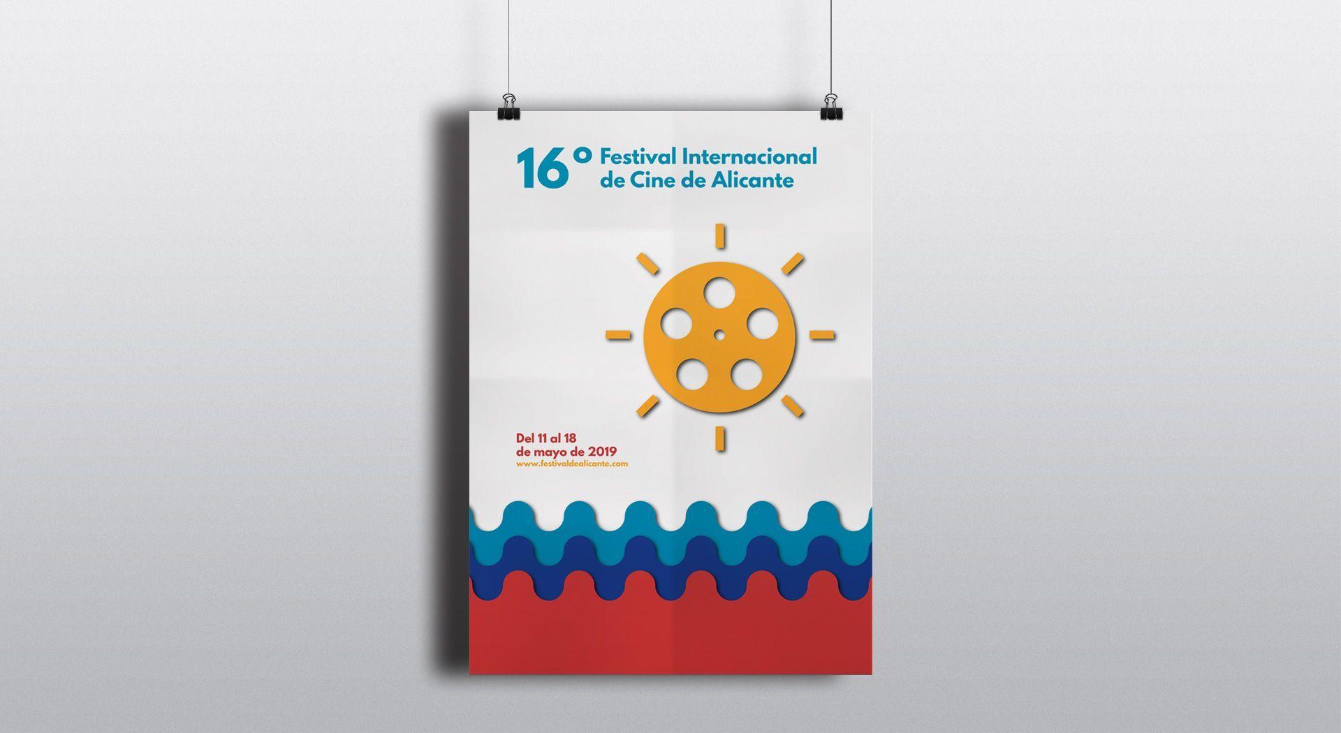 cartel para el Festival de Cine de Alicante 2019