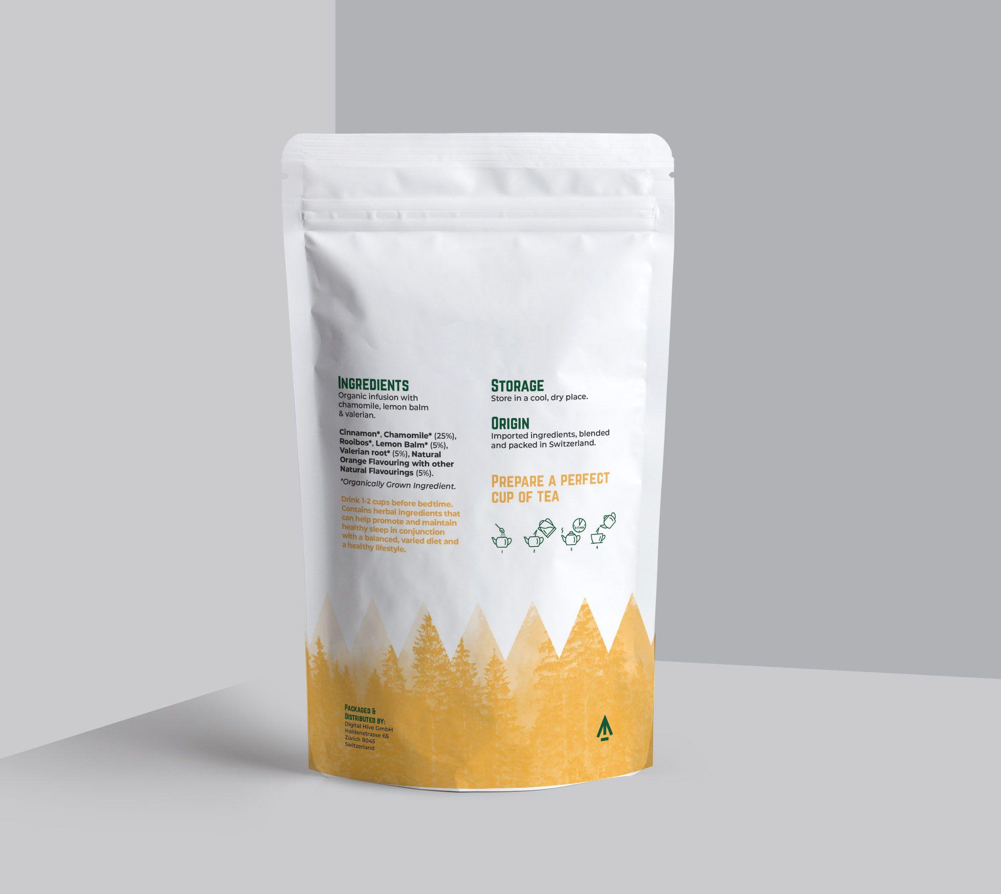 alpine tea packaging