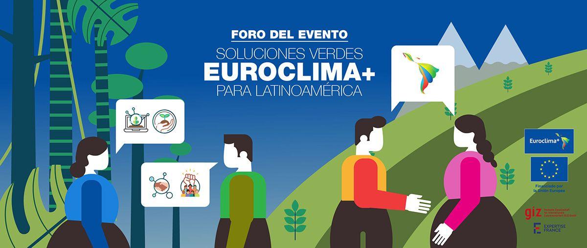Ilustraciones para Euroclima + 2021